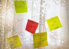 POST IT ler, reler e reviver  6°semestre turma D, Criação manhã Produtor: Marina Saito  Fotografo: Marina Saito