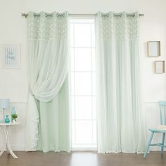 15 espectaculares ideas para decorar con cortinas   Sala comedor ...