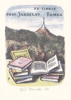 Ex libris Jiří Bouda