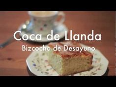 Bizcocho de Desayuno - Coca de Llanda No Bake Desserts, Coco, Banana Bread, French Toast, Baking, Breakfast, Brownies, Youtube, Fondant Cakes