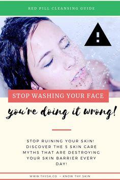Skin Care for Combination Skin Type Oily Skin Remedy, Dry Skin Remedies, Oily Skin Care, Acne Remedies, Skin Care Tips, Wash Your Face, Acne Skin, Combination Skin, Skin Problems