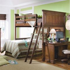 Elite - Classics Full Size Loft Bed Complete by Lea Industries - AHFA - Loft Bed Dealer Locator