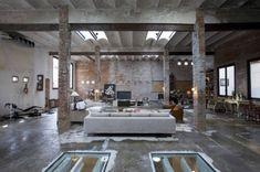 Old Printing Factory - New Loft #renovation #interior #design #urban #cool