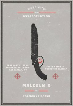 Invitation To An Assassination poster series — Lost At E Minor: For creative people