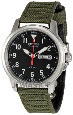 Citizen Eco-Drive 180 BM8180-03E: $75. It doesn't look that good with the ugly canvas strap it comes with, but on a leather or metal band it looks much better.