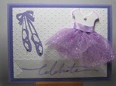 ballerina birthday card - Google Search