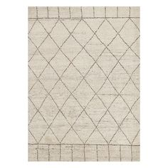 NOVICA Hand-Knotted Moroccan Pattern Wool Ivory/Taupe Area Rug (€2.400) ❤ liked on Polyvore featuring home, rugs, area rugs, hand-knotted, homedecor, hand knotted wool area rugs, hand knotted rugs, wool area rugs, hand-knotted rug and ivory wool rug