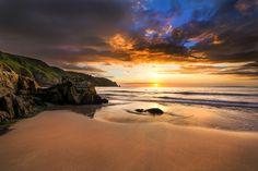 Plemont Bay Sunset by Nick Venton on 500px