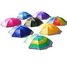 Ladies Men Adult Multi Colour Festival Essential Umbrella Rain Hat Fancy Dress in Clothes, Shoes & Accessories, Fancy Dress & Period Costume, Accessories | eBay