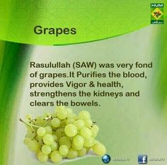 Grapes are good
