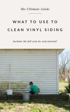 Clean Siding, White Siding, Outdoor Projects, Outdoor Ideas, Outdoor Spaces, Cleaning Vinyl Siding, Composite Siding, Window Company, Siding Options