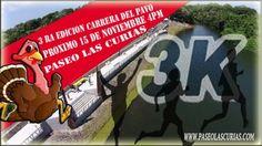 https://www.mieventoonline.com/index.php/events/event-catagories/ciclismo-recreativo/event/66/3era-Edici%C3%B3n-Carrera-del-Pavo  Este fin de semana!!!   Inscribete online: Ponte las tenis y participa de la Carrera 3k - Las Curias