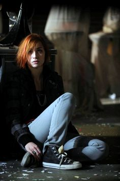 Yeah, Allison Scagliotti would be such a cool Molly Carpenter, daughter of Michael and Charity (here as Claudia Donovan on Warehouse 13)