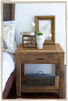 bedside table X2 #Anthropologie #PinToWin