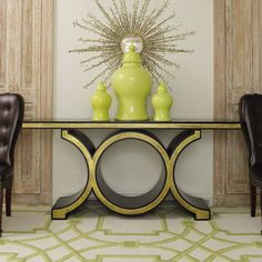 This stunning console would mix in beautifully with a traditional or contemporary environment | domino.com