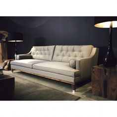 RITA LOUNGE SOFA The detailing on this couch is phenomenal. Do visit the website for a treat.