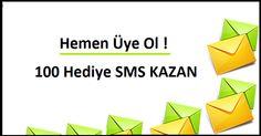 Bizi takip eden tüm üyelerimiz kazanıyor.Hemen takip et sende Kayıtsız şartsız 100 Hediye SMS Kazan www.kentgrup.net
