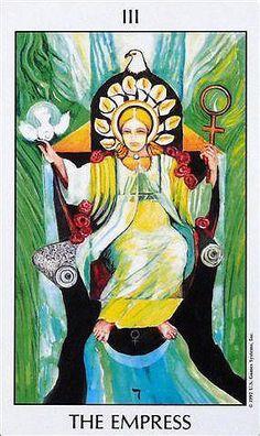 III Empress - Deck: Tarot of The Spirit by Pamela Eakins, Ph.D Artist: Joyce Eakins A beautiful tarot deck!