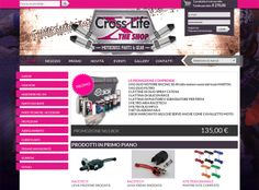 Crosslife - Gear & Parts Shop on line  www.crosslife.it