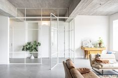 Cladding Materials, Interior Architecture, Interior Design, Studio Room, Piece A Vivre, Home Office Decor, Home Decor, Steel Doors, Internal Doors