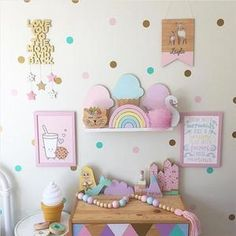 Hang some happy with magically cute decor featuring everyone\'s ...