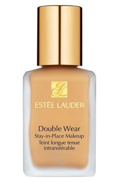 Estée Lauder 'Double Wear' Stay-in-Place Liquid Makeup | Nordstrom ❤️❤️❤️ number #1 foundation amazing coverage full beautiful beautiful coverage This is a lovely amazing foundation it really covers and it gives LORAC the most flawless look of any foundation❤️❤️❤️❤️❤️