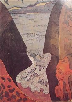 Cliffs near Camaret - Georges Lacombe