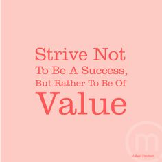 Success is subjective and constantly changing. Value is easily recognizable. #mymevii