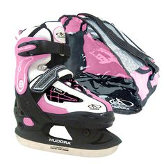 HUDORA Schlittschuh HD 2010 rosa, Gr. 28-31 #schlittschuh #eislaufen #schneerutscher #wintersport #spaßimschnee #schlitten #schlittenfahren #winterspaß #schnee  #kinder Golf Bags, Den, Running Shoes, Sneakers, Sports, Fashion, Pink, Snow Ice Cream, Ice Skating