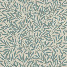Discover+the+William+Morris+Willow+Wallpaper+-+210382+at+Amara