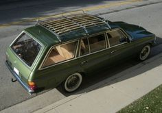 1980 Mercedes Benz 300D Station Wagon For Sale Rear