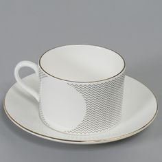 The Curve Tea Cup And Sacuers 2