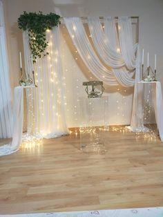 Wedding Backdrop Design, Wedding Hall Decorations, Desi Wedding Decor, Wedding Reception Backdrop, Engagement Party Decorations, Diy Birthday Decorations, Backdrop Decorations, Background Decoration, Wedding Proposals