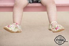 Girls Mary Jane Shoes - Paisley. Non-slip, suede soles and trendy fabric uppers, easy Velcro fastening, the perfect first shoe! Our fabrics and trims are carefully selected, to create a shoe that is unique and truly special.
