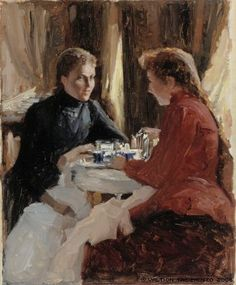 Edelfelt, Albert  Elevenses, 1884