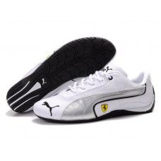 94429f8660c Puma Drift Cat Men White Silver Black Nike Shox Shoes