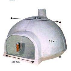 Resultado de imagem para medida de um forno de pizza