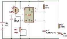 dark sensor using relay and AC   electronics   Pinterest ...