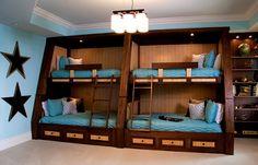 Uzumaki Interior Design: Funtastic Cool Bunk Beds and Lofts for . Funtastic Cool Bunk Beds and Kids Beds Corner Bunk Bed Design With S. Modern Bunk Beds, Cool Bunk Beds, Bunk Beds With Stairs, Kids Bunk Beds, Modern Loft, Tropical Bedrooms, Bunk Rooms, Dorm Rooms, Bunk Bed Designs