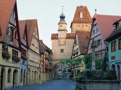 Rothenburg, Bayern (die Romantische Strasse).