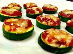 Kale With Love: Mini Zucchini Pizzas