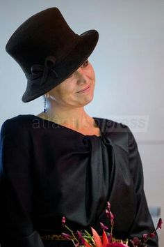 March Dutch Queen Maxima opens the Outsider Art Museum at the Hermitage in Amsterdam, The Netherlands, . Nassau, Dutch Queen, Royal King, Royal Beauty, Estilo Real, Dutch Royalty, Wide Brimmed Hats, Lovely Smile, Queen Maxima