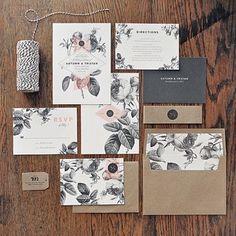 Meet the Wedding Invitations Designer: Rachel of Rachel Marvin Creative | The Elli Blog