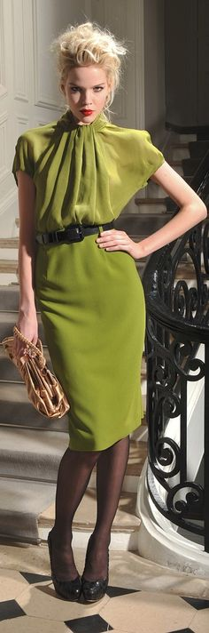 Christian Dior women fashion outfit clothing style apparel @roressclothes closet ideas