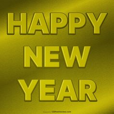 Free Gold New Year Poster Happy New Year Hd, Happy New Year Banner, Happy New Year Images, New Year Greeting Cards, New Year Greetings, New Years Poster, Vector Free Download, Banner Design, Clip Art