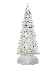 Another great find on #zulily! Frosted Small Light-Up Christmas Tree by GANZ #zulilyfinds