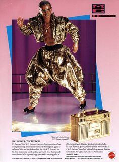 M.C. Hammer Doll from the Mattel Catalog, 1991