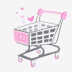 Shopping Cart Logo, Logo Online Shop, Oriflame Cosmetics, Fashion Wall Art, Instagram Logo, Instagram Highlight Icons, Pink Wallpaper, Paint Shop, Mary Kay