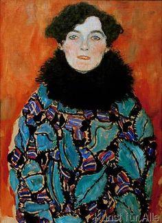 Gustav Klimt - Bildnis Johanna Staude