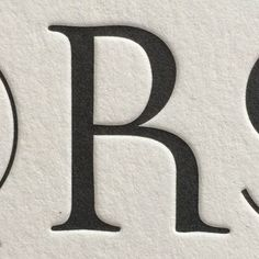 R / Garda Titling One / Feliciano / Mário Feliciano. Garda is a capitals-only type family with three styles and many stylistic alts. This is one of the R alternate glyphs. #vllg #Feliciano #letterpress printed by @aldinenyc